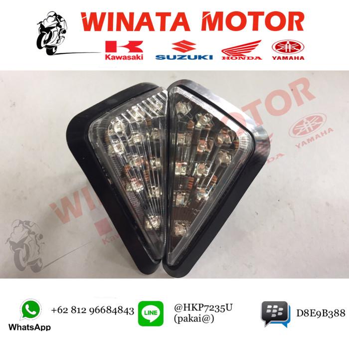 LAMPU SEN TEMPEL/ LAMPU SEIN SEGITIGA / NINJA/ VIXION / CB150R / R15
