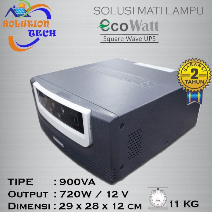 harga Inverter ecowatt 900va luminous pure square wave ups Tokopedia.com
