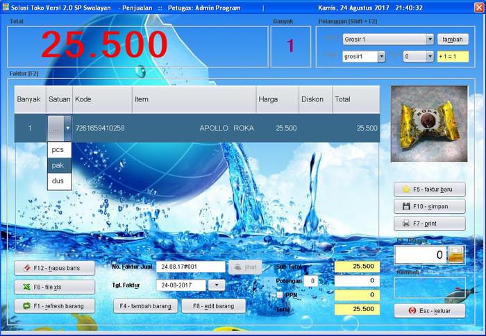 Foto Produk Paket Barcode Scanner & Software Solusi Toko 2.0 dari solusiprogramcom
