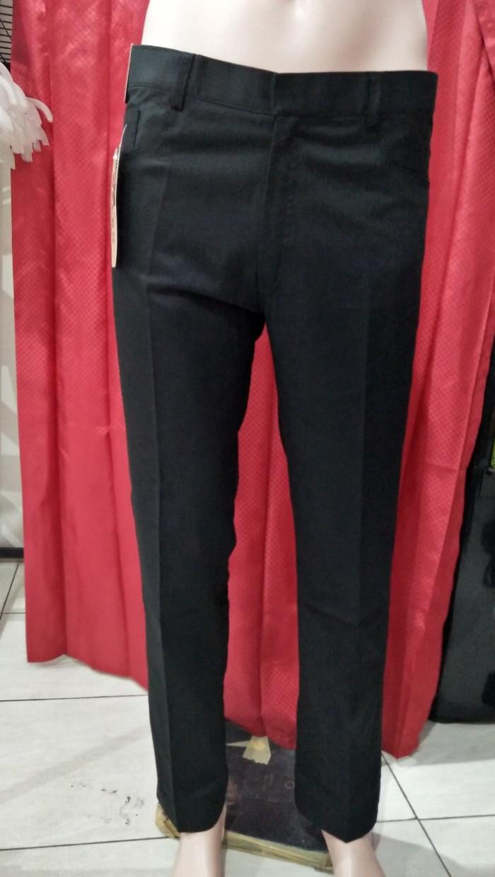 Foto Produk Celana Panjang Pria Celana Kerja Kantor Formal Size 27 - 38 CDXBG48 - Hitam dari Viral Pro Style