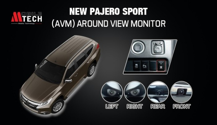 harga Around view monitor mtech mitsubishi pajero sport bird eye camera Tokopedia.com