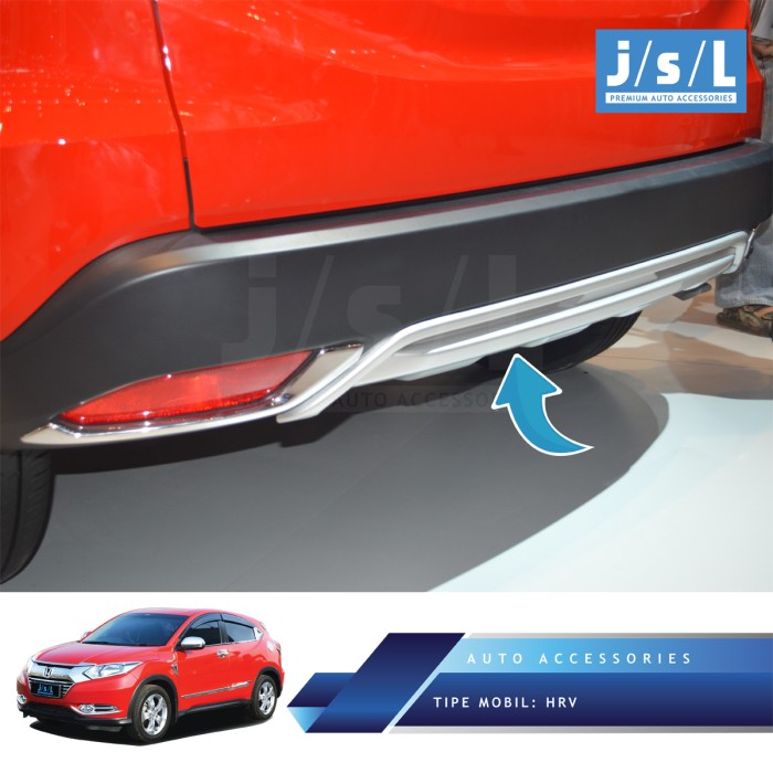 harga Honda hrv garnish bawah belakang jsl / rear lower garnish silver Tokopedia.com