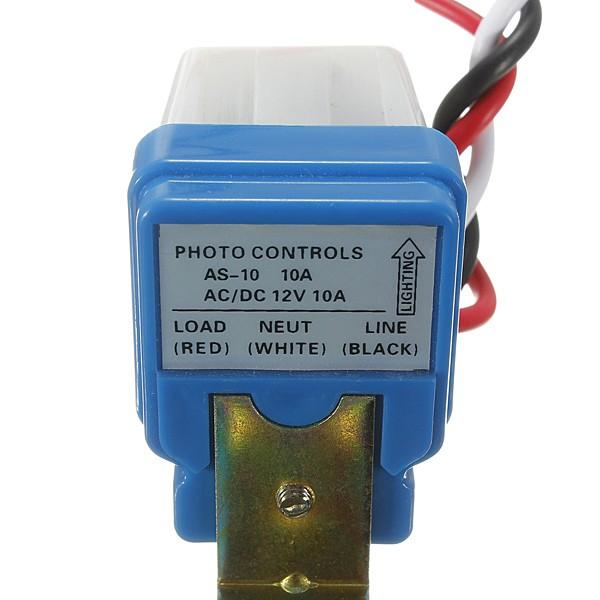 harga Photocell light street ac dc 12v sensor otomatis cahaya lampu jalan Tokopedia.com