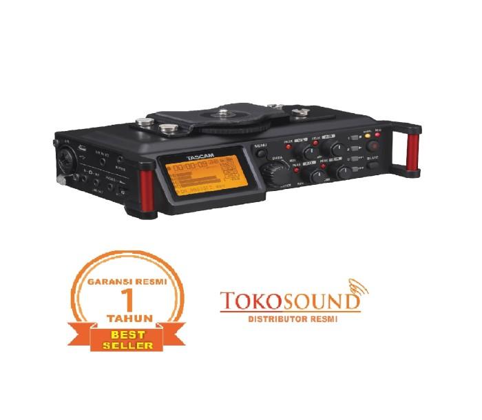 harga Tascam dr 70d (linear pcm recorder for dslr) Tokopedia.com