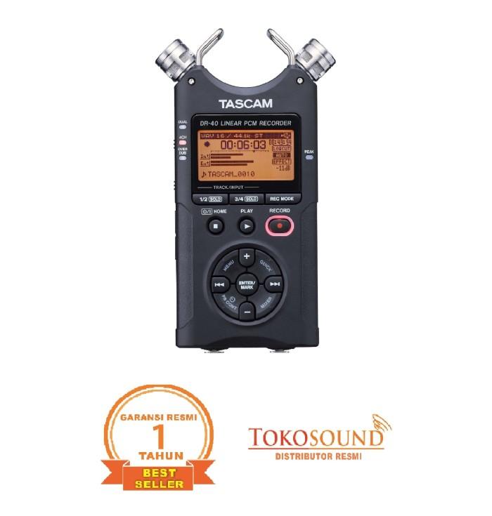 harga Tascam dr 40 versi 2 Tokopedia.com