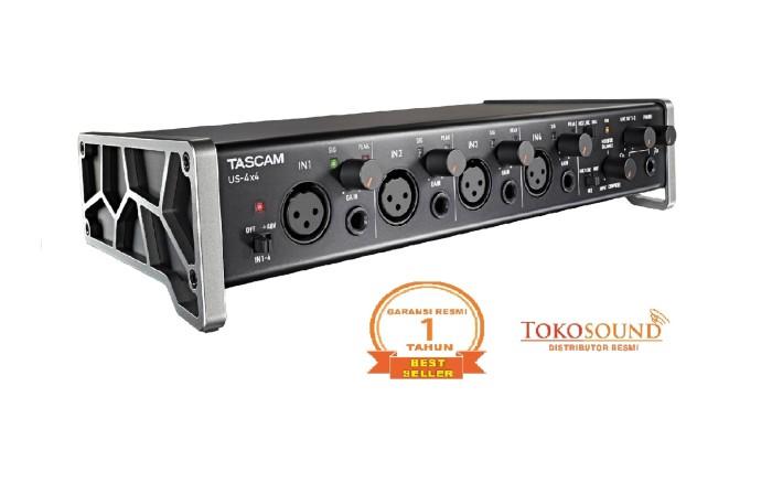 harga Tascam us 4x4 (usb audio interface) Tokopedia.com