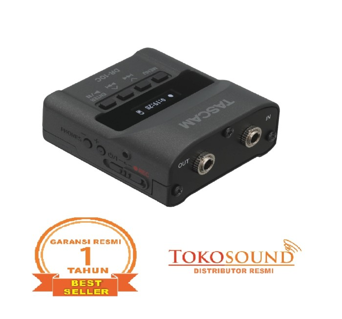 harga Tascam dr-10cs (digital audio recorder with shure jack) Tokopedia.com
