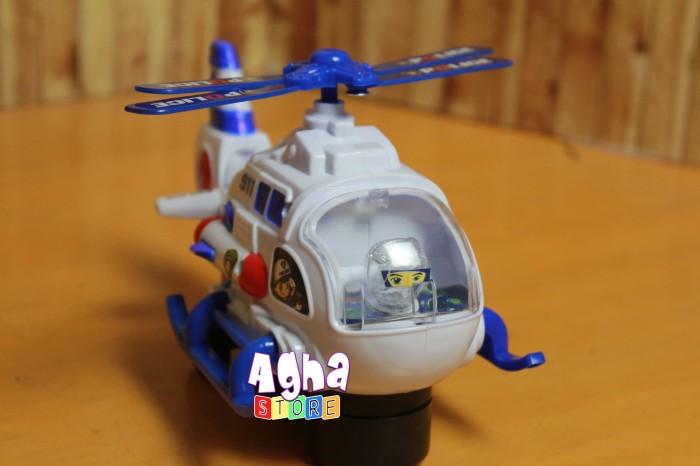 harga Mainan helicopter police 911 bump & go Tokopedia.com