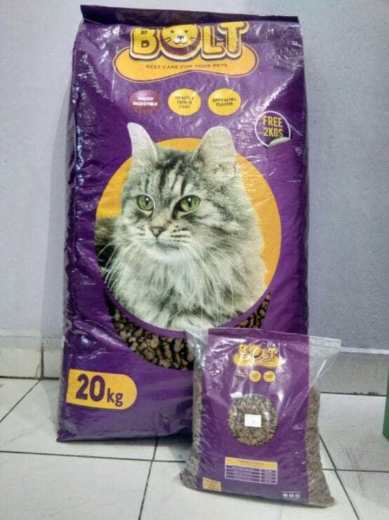 Jual Makanan Kucing Bolt Tuna 1kg Repack Kota Medan House Of