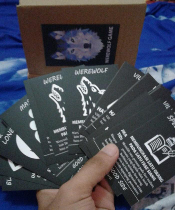 Foto Produk werewolf game card dari Buku Komik Novel