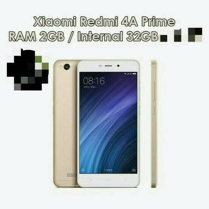 harga Xiaomi redmi mi 4a prime ram 2/32gb - xiomi emas/goldgrey 4g lte Tokopedia.com