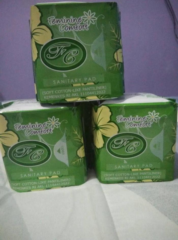 ... Paket Murah 3 Pack Avail Pantyliner Hijau Pembalut Herbal Wanita