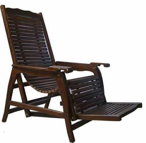 Foto Produk Kursi Teras Jati / Kursi Santai / Furniture Taman / Kursi Serbaguna dari jati apik furnitur