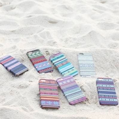 harga Ethnic Pattern Case Kain Fabric Ip Iphone 4 5 Hardcase Blanja.com