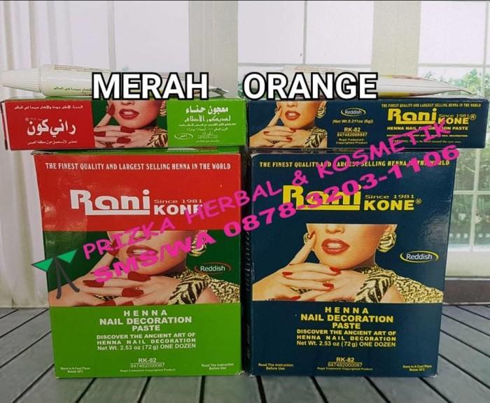 Jual Rani Nail Henna Hena Cat Pewarna Kuku Arab Original Halal
