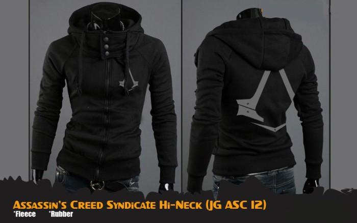 harga Jaket anime | assassins creed syndicate hi-neck (jg asc 12) Tokopedia.com