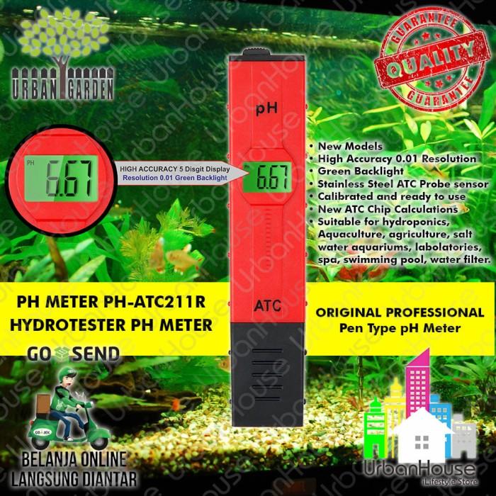 harga Original Ph Meter Atc-211r Urbangarden High Quality Alat Ukur Air Tokopedia.com
