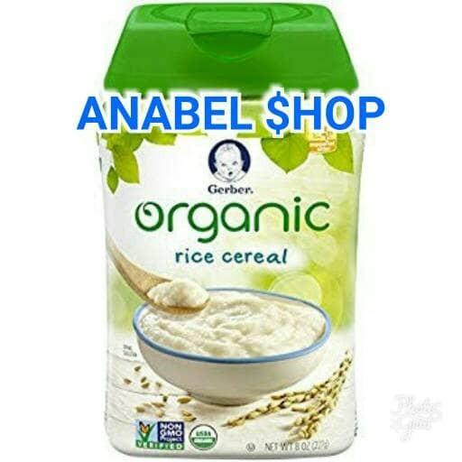 harga Gerber organic rice cereal Tokopedia.com