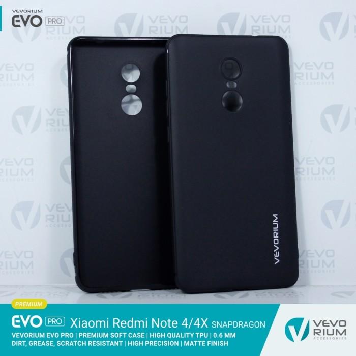 new style 8a315 861c7 Jual Xiaomi Redmi Note 4X 4 Snapdragon Premium Soft Case Softcase Back HQ -  Hitam - Kota Surabaya - Vevorium   Tokopedia
