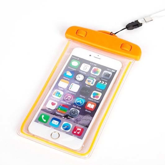 harga Tas waterproof luminous untuk smartphone 4.5 - 6 inch - abs175-100 Tokopedia.com