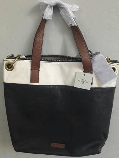 harga Tas kulit fossil keely tote bag original Tokopedia.com
