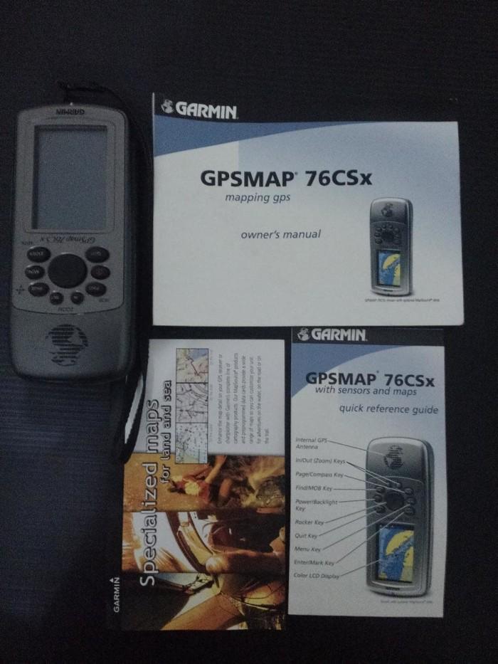 harga Garmin gpsmap® 76csx Tokopedia.com