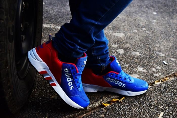 ... harga Sepatu Running Casual Sport Pria Adidas Torsion Men Kets Blue  Tokopedia.com e12dc519eb