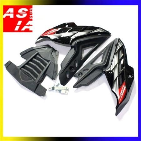 harga Tutup mesin aksesoris variasi sepeda motor yamaha vixion hitam Tokopedia.com