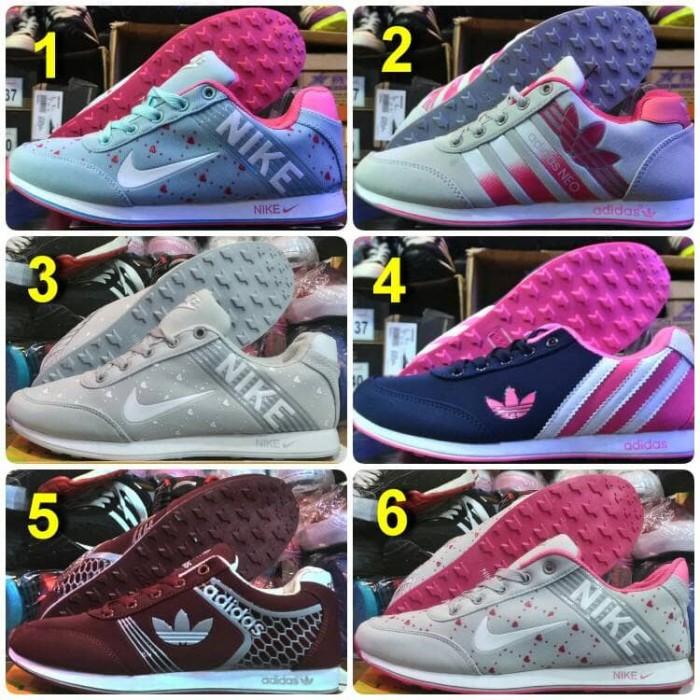 harga Sepatu adidas neo wanita kets casual Tokopedia.com