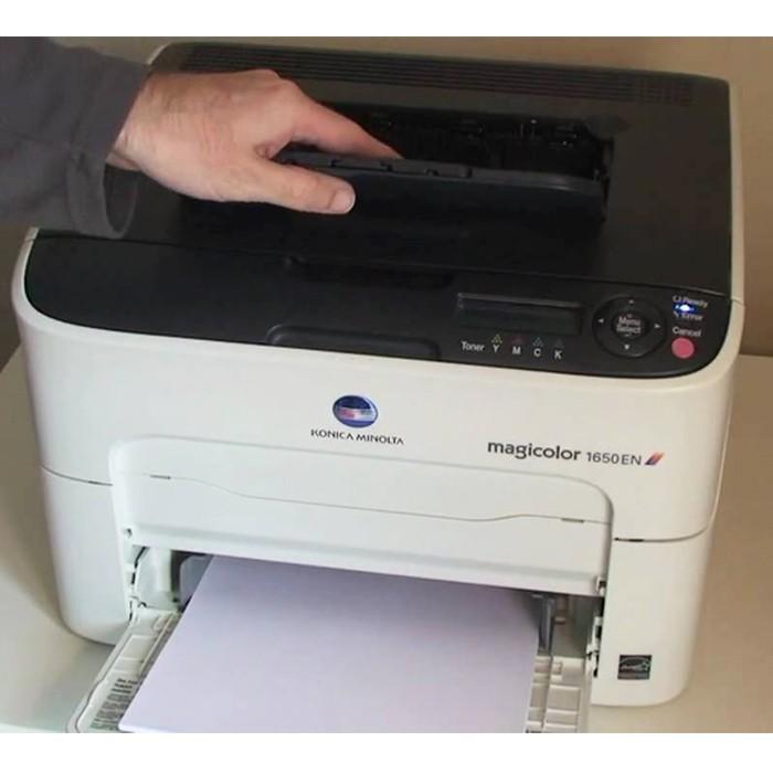 harga Konica color minolta 1650en | printer warna untuk foto dan cetak Tokopedia.com