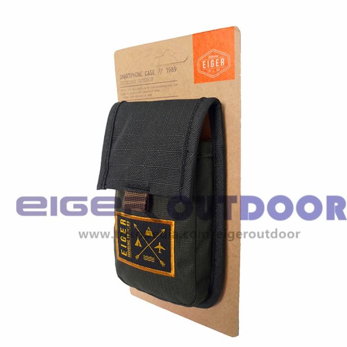 Jual Tas Pinggang Hp Dompet Handphone Eiger 0129 Black Green