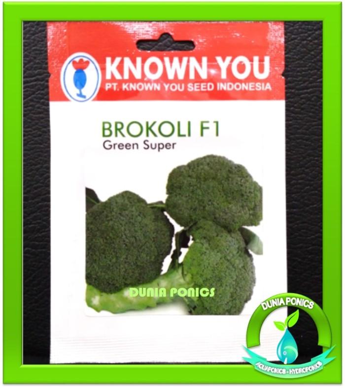 Foto Produk Benih Bibit Brokoli F1 GREEN SUPER Known You Seed dari Dunia Ponics