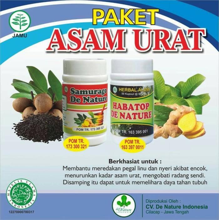 Foto Produk paket asam urat de nature indonesia dari Herbal de Nature