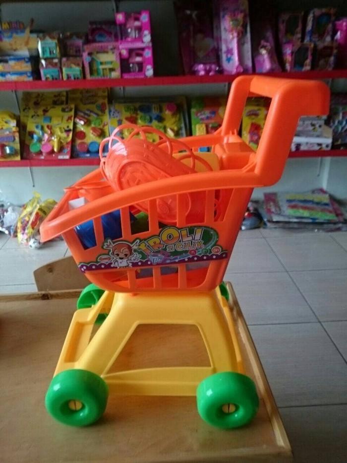 harga Kid trolly (besar) keranjang belanja anak - kado ultah - shopping toys Tokopedia.com