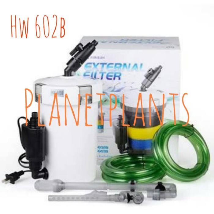 harga Sunsun hw 602b external filter aquascape aquarium Tokopedia.com