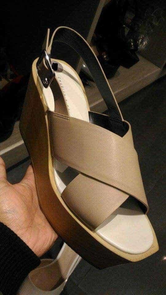 ... harga Sandal wedges cnk ori murah   sale cnk wedges shoes original  Tokopedia.com 8dcfea74f3