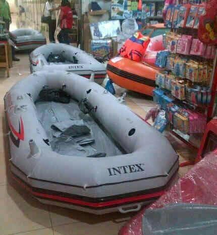 Foto Produk Perahu karet INTEX MARINER 4 untuk banjir mancing dan wisata air dari dunia selam