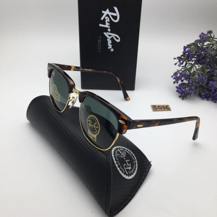 harga Kacamata rayban clubmaster 3016 tortoise kacamata vintage murah gaya Tokopedia.com