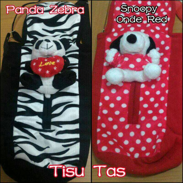 harga Tempat Cover Box Tas Tissue Tisu Tissu Tisue Boneka Snoopy Panda Tokopedia.com