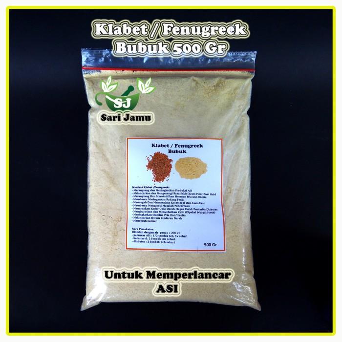 harga Jamu herbal tradisional klabet bubuk 500 gr untuk memperlancar asi Tokopedia.com
