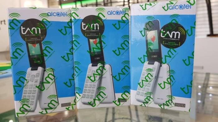 harga Alcatel 2051 flip dual sim - 8mb -slot memory card garansi tam Tokopedia.com