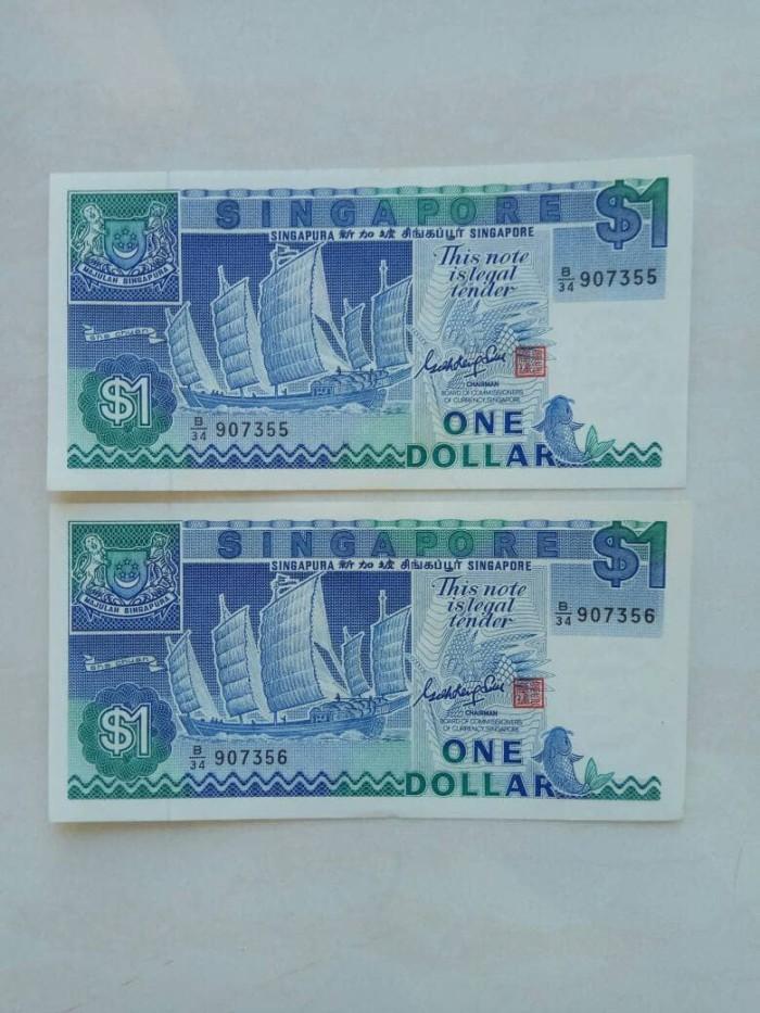 harga Uang kuno singapore 1 dollar ship series th 1987 Tokopedia.com