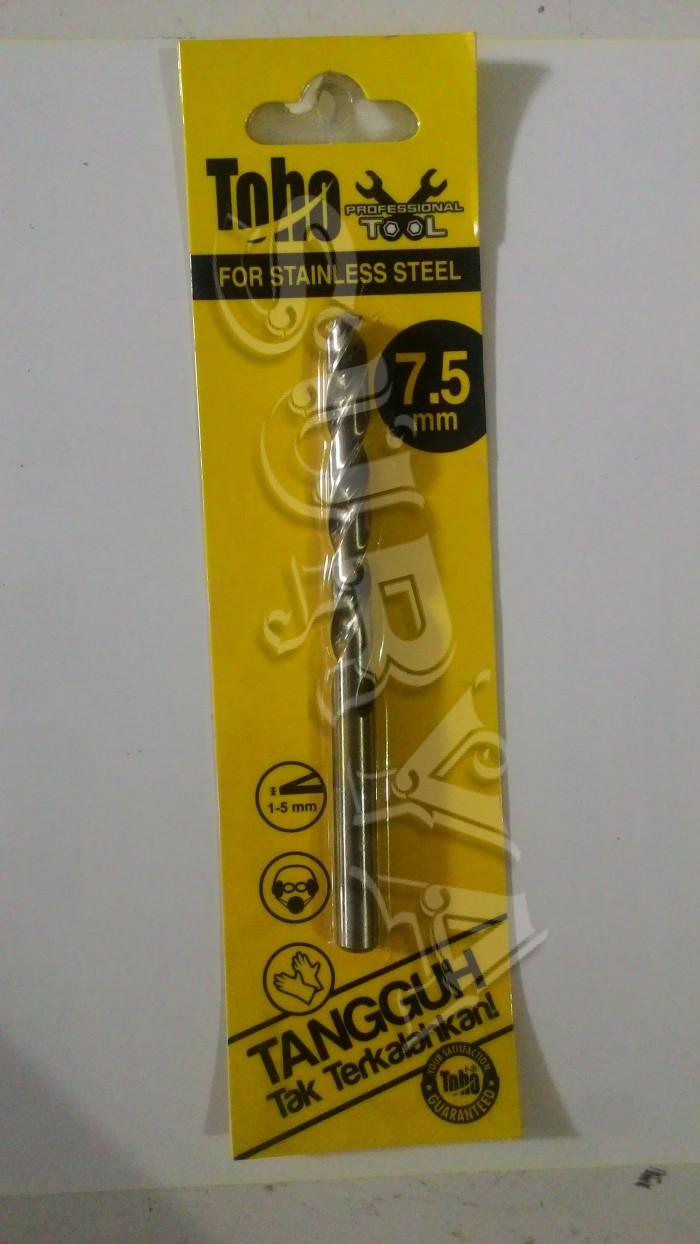 harga Mata bor toho for stainless steel ss 7.5 mm Tokopedia.com