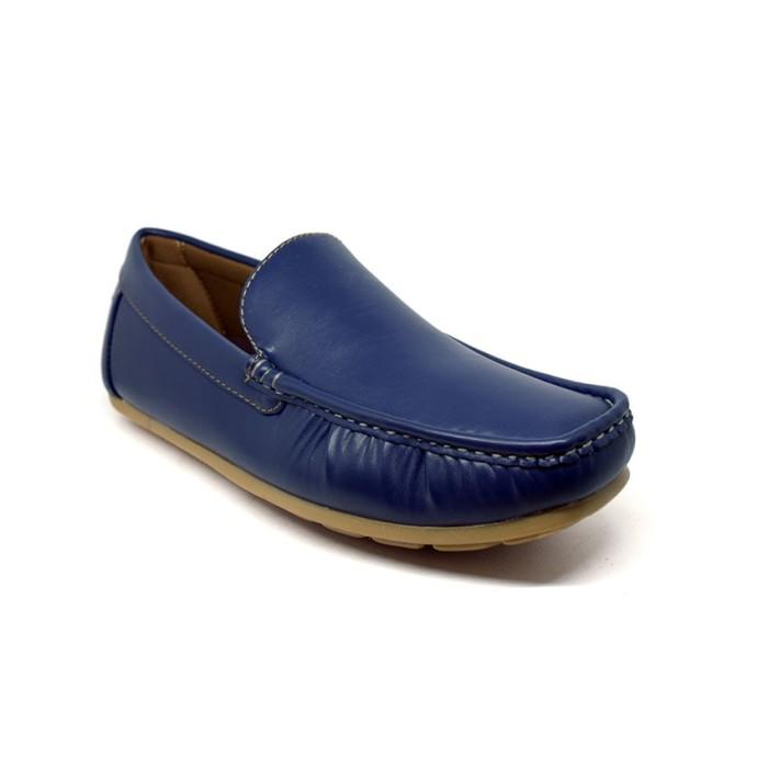 harga Sepatu pria kasual mocassino toro - 8319067 - biru 41 Tokopedia.com 6fd381f11d