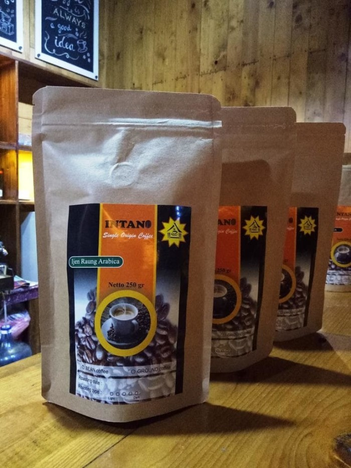 harga Bubuk kopi arabika ijen raung murni specialty premium intano 250 gr Tokopedia.com