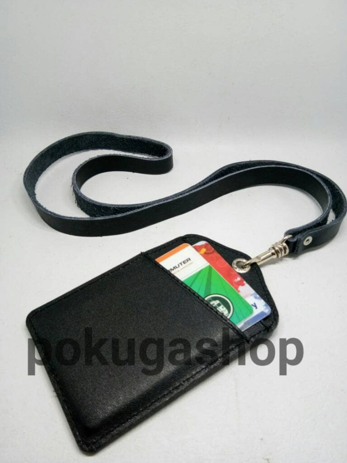 harga Name tag kulit sapi / name tag kalung /name tag lanyard /nametag kulit Tokopedia.com