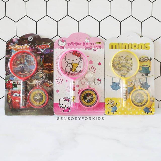 harga Magnifier/compass/kaca pembesar anak/mainan anak/mainan edukasi Tokopedia.com
