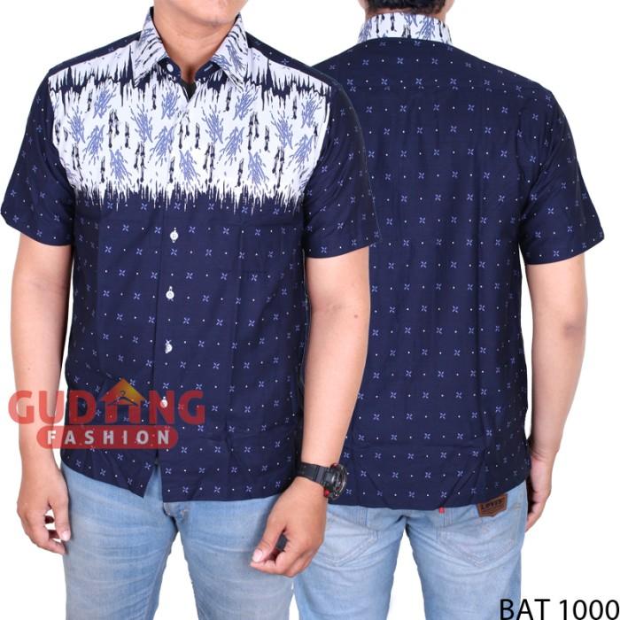 harga Batik casual pria lengan pendek bat 1000 Tokopedia.com
