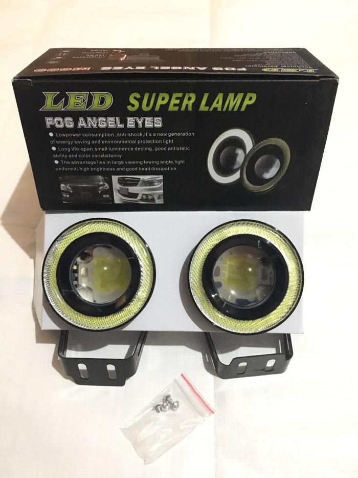 harga Foglamp projector eagle eye led cob universal 3.5 inch - 2 buah Tokopedia.com