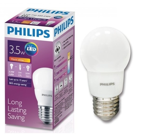 Jual LED PHILIPS 3W KUNING WARM WHITE Lampu Bulb 3 Watt